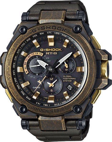 Чоловічі годинники CASIO MTG-G1000BS-1AER - зображення 1