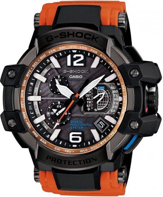 Чоловічі годинники CASIO GPW-1000-4AER - зображення 1
