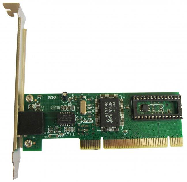 Сетевой адаптер Dynamode Ethernet Lan, PCI (NC100TX-DL) - изображение 1