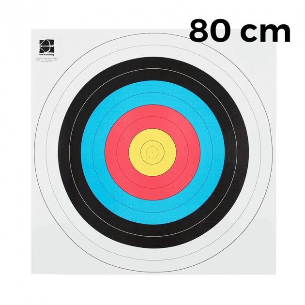 Мішень JVD Fita 80 (10 штук) - зображення 1