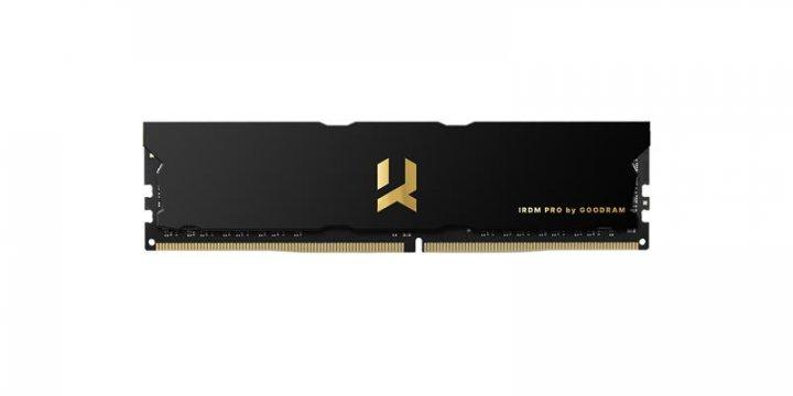 Модуль памяти DDR4 8GB/3600 Goodram Iridium Pro Black (IRP-3600D4V64L17S/8G) - изображение 1