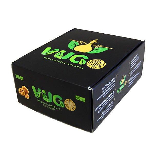 Вугілля горіховий Vugo 0.55 кг - зображення 1