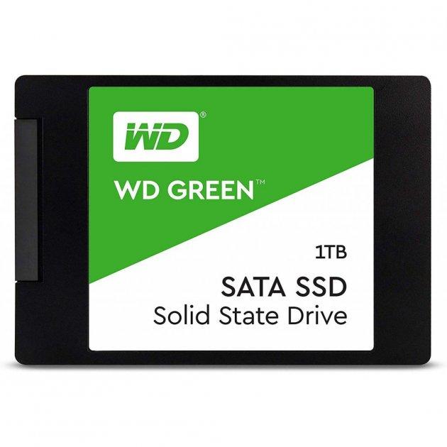 """Накопичувач SSD 2.5"""" 1TB Western Digital (WDS100T2G0A) - зображення 1"""