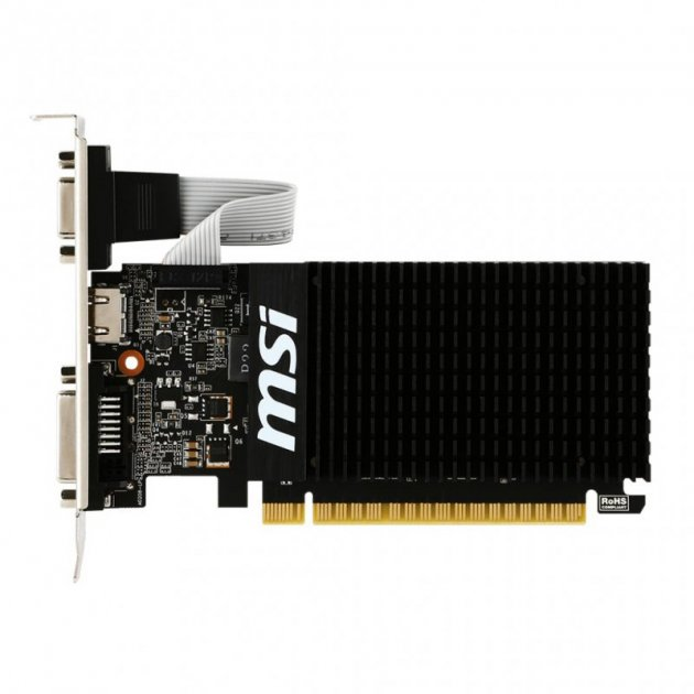 MSI GeForce GT 710 (GT 710 1GD3H LP) - изображение 1