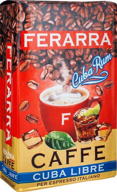 Кофе натуральный жареный молотый Ferarra Cuba Libre 250 г (4820198872410) - изображение 1