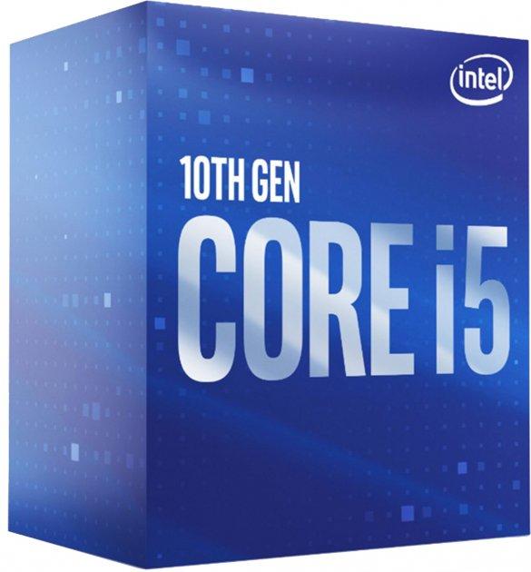 Процесор Intel Core i5-10600 3.3GHz / 12MB (BX8070110600) s1200 BOX - зображення 1