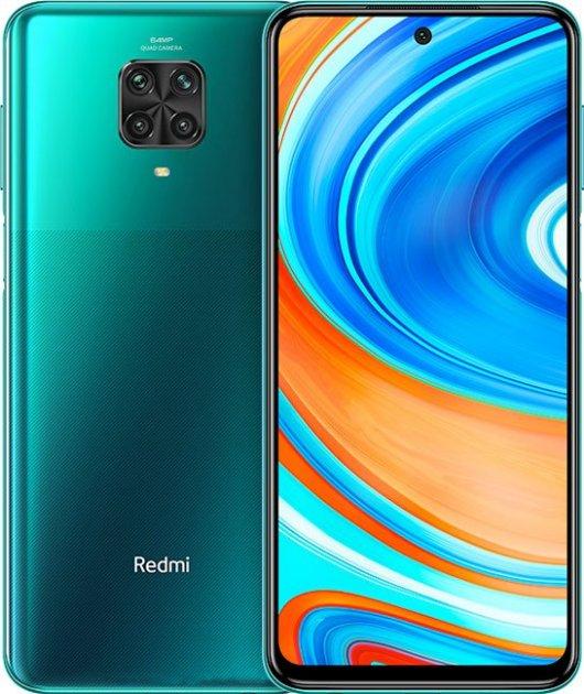 Мобильный телефон Xiaomi Redmi Note 9 Pro 6/64GB Tropical Green - изображение 1