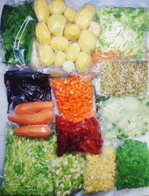 """Продуктовий набір """"Вітамінний"""" ( 13 кг готових для приготування овочів) - зображення 1"""