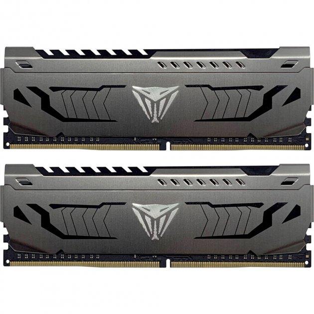 Оперативна пам'ять Patriot Viper DDR4 Steel 16GB 3733 MHz CL17 (Kit of 2x8192) DIMM (PVS416G373C7K) - зображення 1