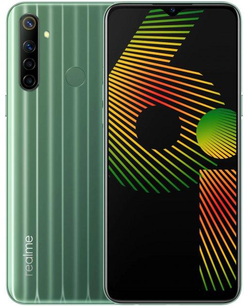 Мобильный телефон Realme 6i 4/128GB Green - изображение 1