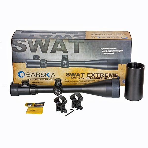 Прицел оптический Barska SWAT Extreme 6-24x60 SF (IR Mil-Dot) - изображение 1