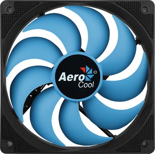 Кулер Aerocool Motion 12 Plus 120 мм Blue - зображення 1