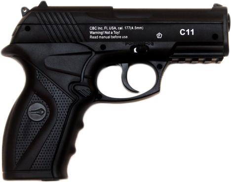 Пневматичний пістолет Borner C11 (8.4010) - зображення 1