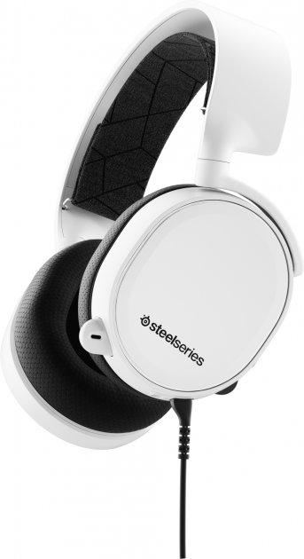 Навушники SteelSeries Arctis 3 2019 Edition White (SS61506) - зображення 1