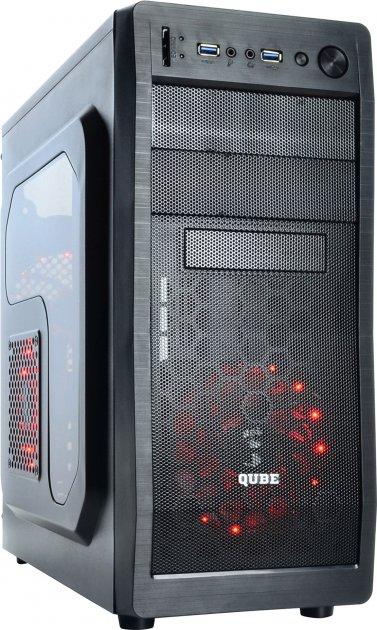 Корпус QUBE QB928A Black (QB928A_WRNU3) - изображение 1