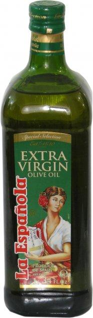 Оливковое масло La Espanola Extra Virgin 1 л (8410660101054) - изображение 1