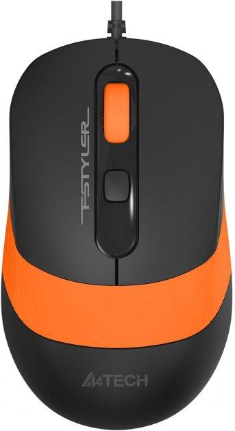 Мышь A4Tech FM10S USB Orange (4711421951494) - изображение 1
