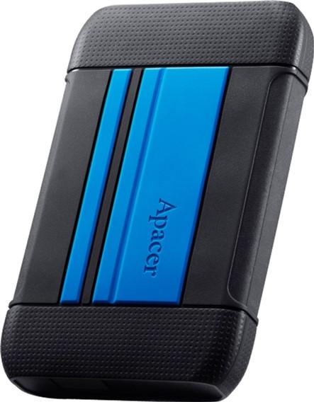"Жорсткий диск Apacer AC633 2TB 5400rpm 8MB AP2TBAC633U-1 2.5"" USB 3.1 Speedy Blue - зображення 1"