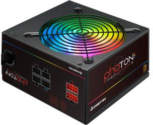 Блок питания Chieftec CTG-750C-RGB 750W, 120mm, 20+4pin, 1x4+8pin, SATA х 6, Molex 4x4pin, 2x6+2pin, - изображение 1