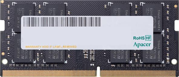 Оперативна пам'ять Apacer SODIMM DDR4-2400 8192MB PC4-19200 (ES.08G2T.GFH) - зображення 1