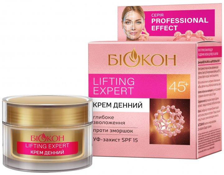 Дневной крем Биокон Professional Effect Lifting Expert 45+ 50 мл (4820160037328) - изображение 1