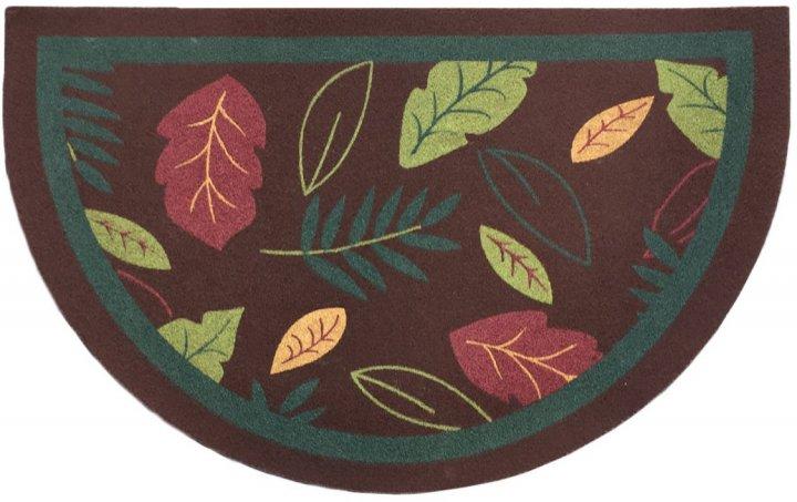 Придверный коврик IzziHome Oscar Y. Kahve Yapraklar 40x65 (2200000543806) - изображение 1