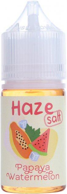 Рідина для POD-систем Haze Salt Papaya Watermelon 25 мг 30 мл (Папая + кавун) (HS9137) - зображення 1