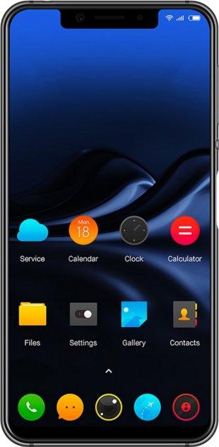 Мобильный телефон Glofiish GPad U Black - изображение 1