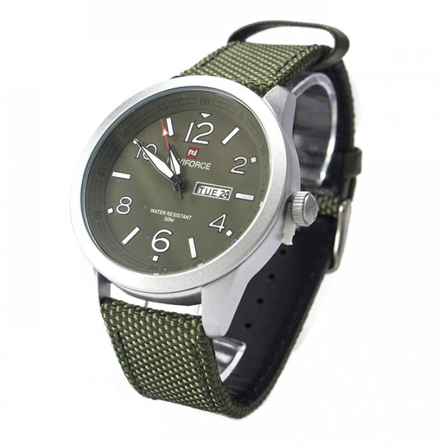 Часы Naviforce 9101SVG Silver-Green - изображение 1