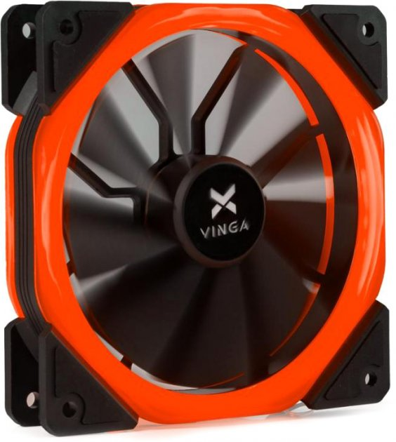 Кулер Vinga LED fan-02 Red - изображение 1