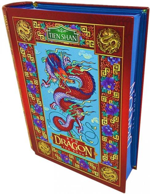 Чай черный байховый листовой Tien Shan Red Dragon жестяная банка 100 г (4820082707590) - изображение 1