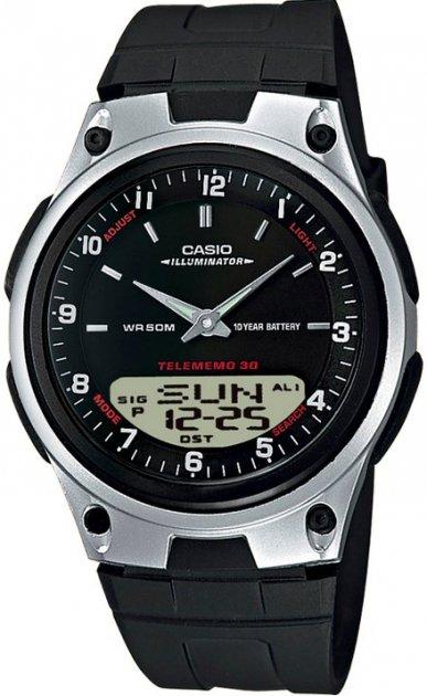 Чоловічий годинник CASIO AW-80-1AVES - зображення 1