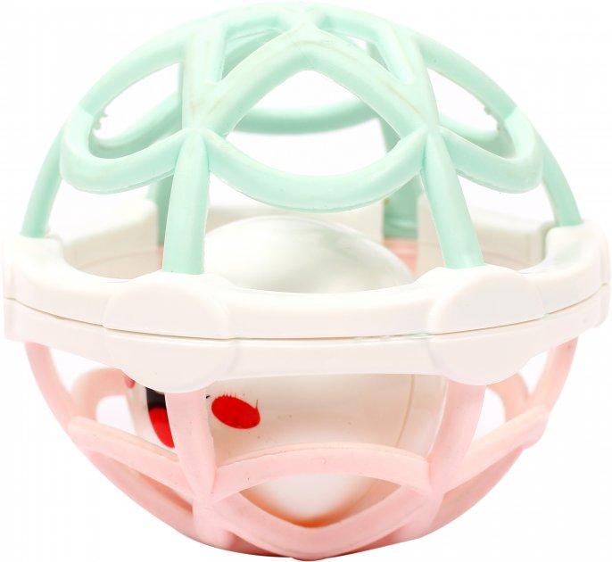 Погремушка-игрушка Lindo Б 324 Белая с розовым (4890210053240) - изображение 1
