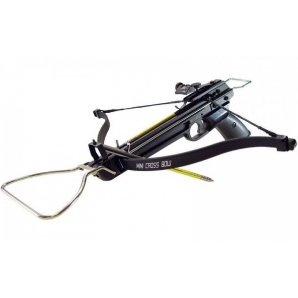 Арбалет Man Kung MK-80A3, Рекурсивный, пистолетного типа, алюм. рукоять - зображення 1