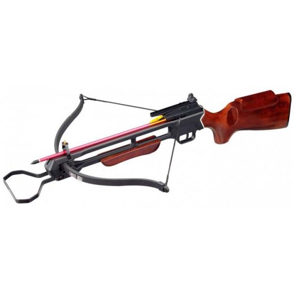 Арбалет Man Kung MK-200A2, Рекурсивный, винтовочного типа, деревянный приклад ц:коричневый (Original) - зображення 1