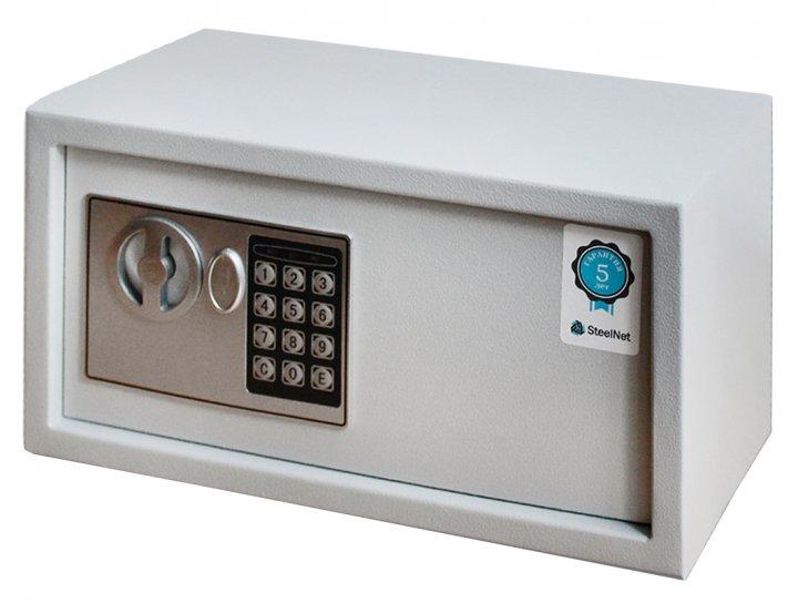Сейф мебельный SteelNet SN-МС-18Е-7035 - изображение 1