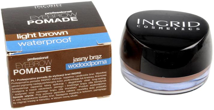 Помада-контуринг для бровей Ingrid водостойкая Светло-коричневая 7 г (5902026634663) - изображение 1