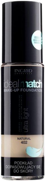 Тональний крем Ingrid Cosmetics водостійкий Match №402 30 мл (5902026660693) - зображення 1
