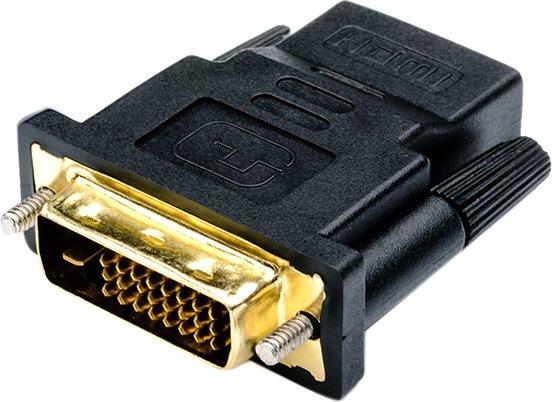 Переходник Atcom HDMI (F) - DVI (M) Black (11208) - изображение 1