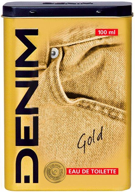Туалетная вода для мужчин Denim Gold Eau De Toilette 100 мл (8008970046105) - изображение 1