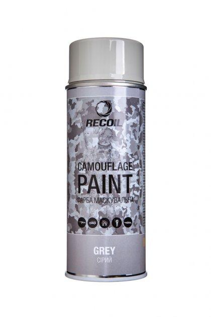 Фарба маскувальна аерозольна RecOil (Сірий) - зображення 1