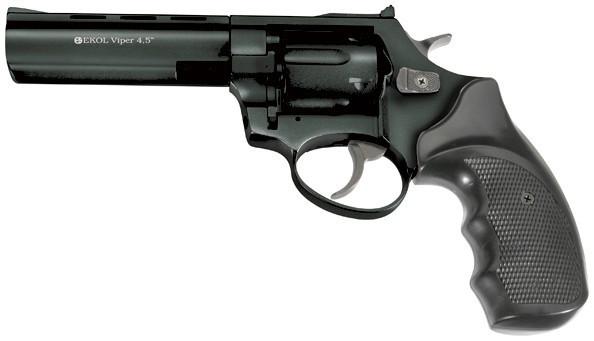 "Револьвер под патрон Флобера Ekol Viper 4,5"" Black - изображение 1"
