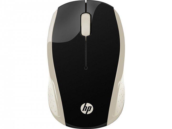 Мышка HP 200 Silk Gold (2HU83AA) - изображение 1