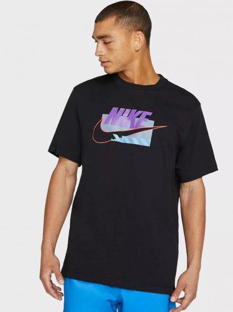 Футболка Nike M Nsw Tee Sp Brandmarks Hbr DB6173-010 S (194502448542) - зображення 1
