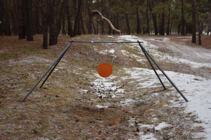 Стійка Середня з гонгом 200 мм Сателіт (649) - зображення 1