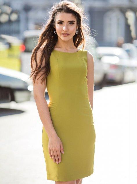 Платье Le Bourdon 031FM/KR-71 54UA Зеленое (NB2000001103111) - изображение 1