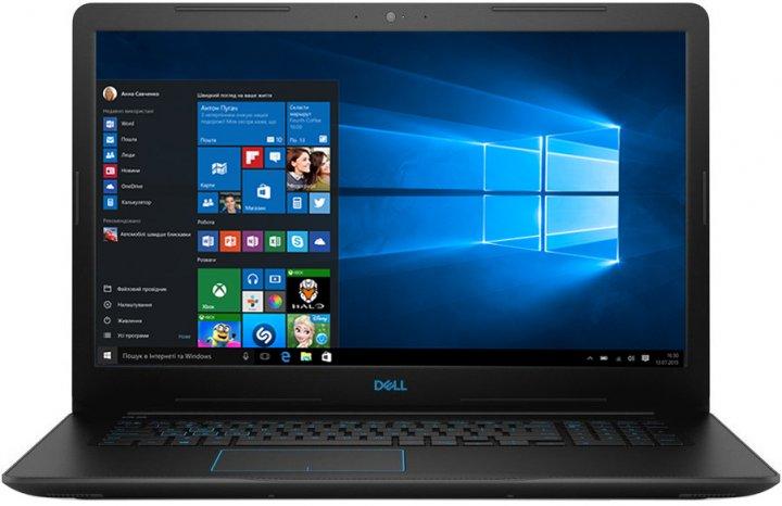 Ноутбук Dell Inspiron G3 17 3779 (37G3i58S1H1G15-WBK) Black - зображення 1