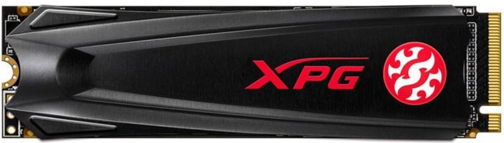 ADATA XPG Gammix S5 256GB M.2 2280 PCIe 3.0 x4 3D NAND TLC (AGAMMIXS5-256GT-C) - изображение 1