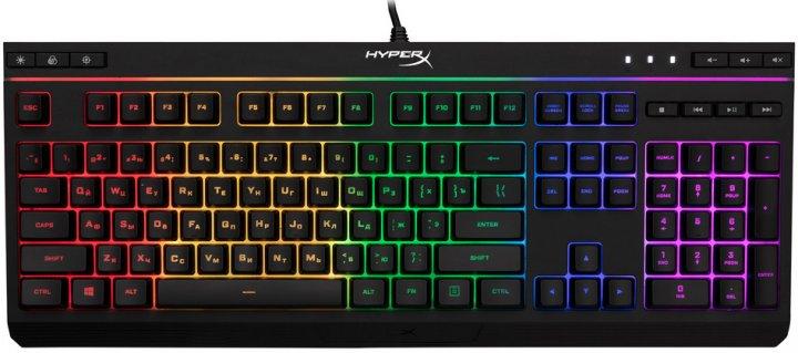 Клавиатура проводная HyperX Alloy Core RGB Membrane Gaming USB (HX-KB5ME2-RU) - изображение 1