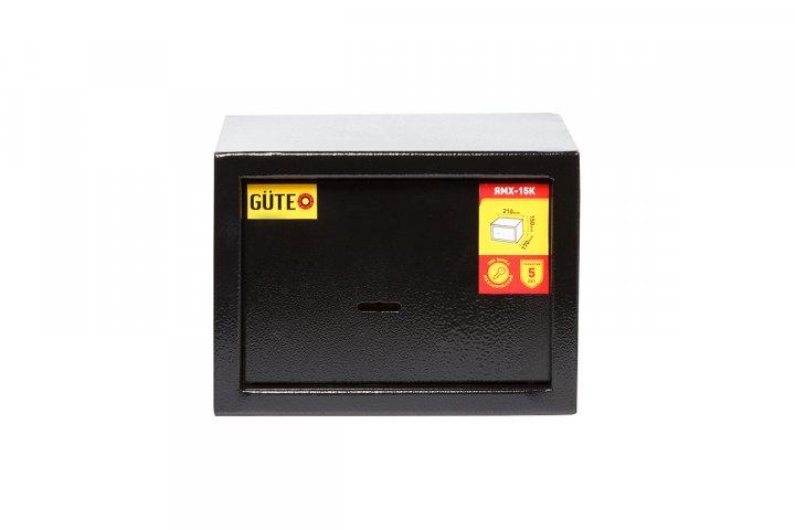 Мебельный сейф GUTE ЯМХ 15К Черный (07022) - изображение 1